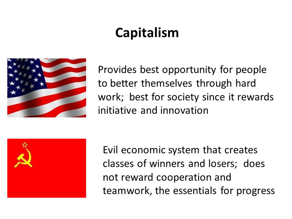 cold war terms graphics democracy dom individualism  16 capitalism provides best