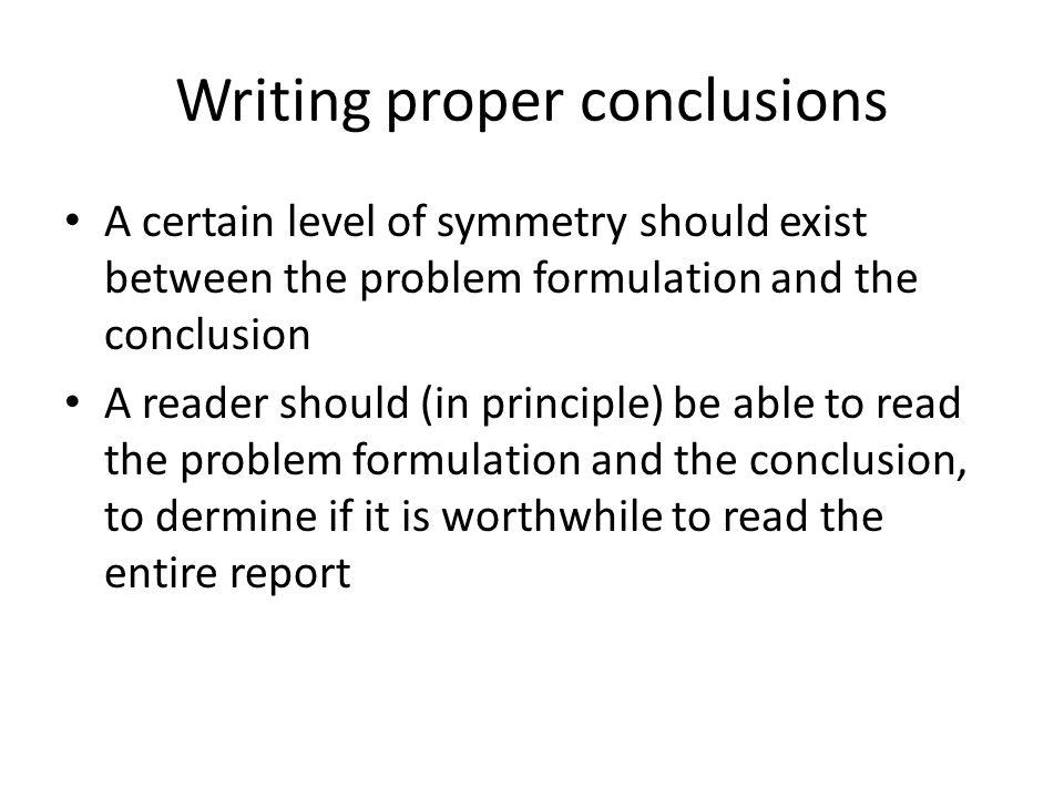 dissertation conclusion structure