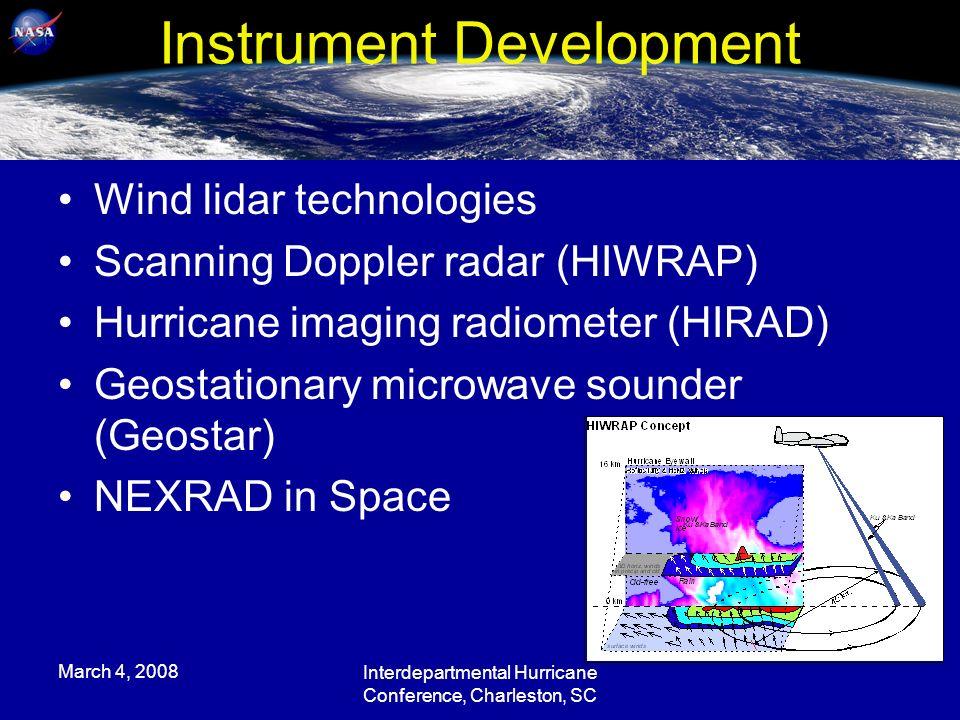 March Interdepartmental Hurricane Conference Charleston - Charleston sc doppler radar