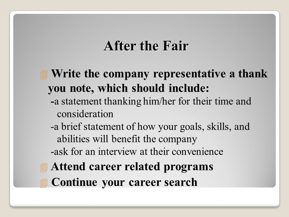 college career fair cover letter Cover letters career fairs example, format, template and information on writing a career fairs cover letter.