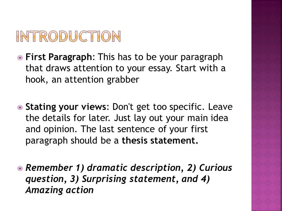 persuasive five paragraph essay