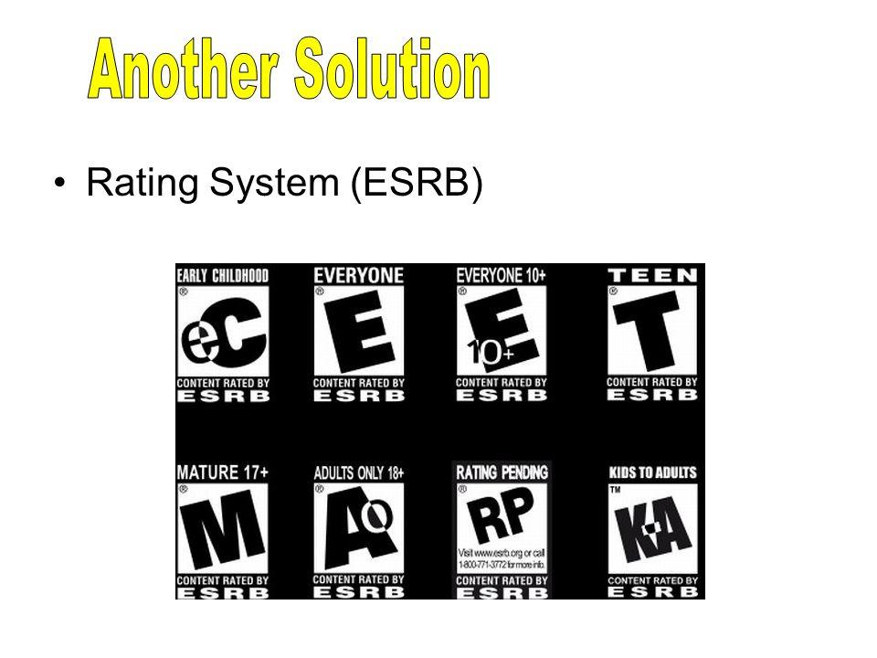 Rating System (ESRB)