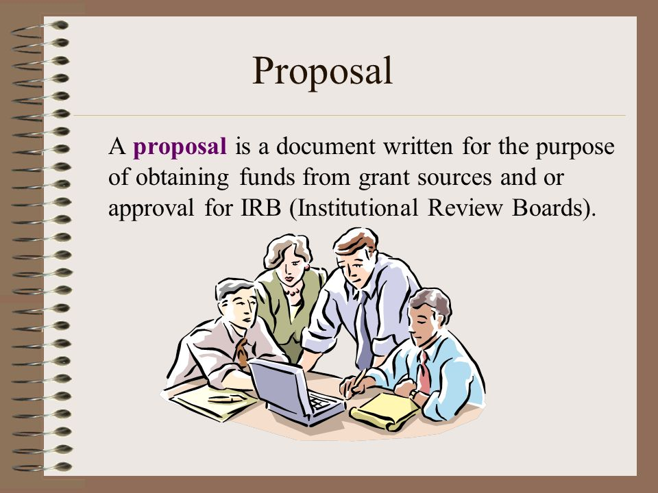 Purposes Of Research Proposal