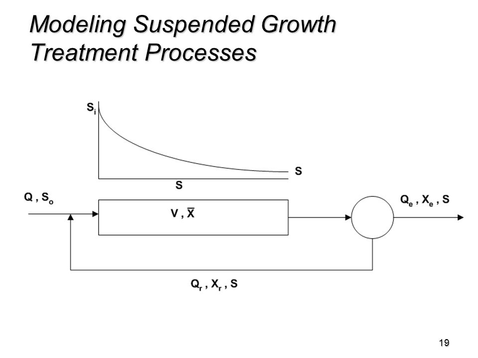 19 Modeling Suspended Growth Treatment Processes
