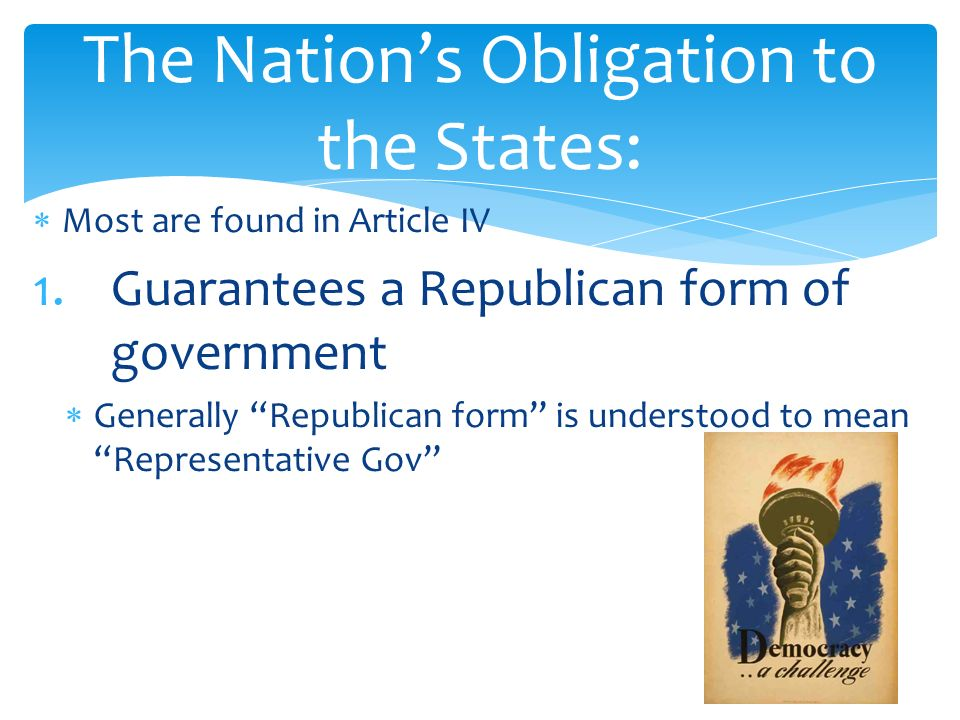 The National Government and the 50 States.  Most are found in ...