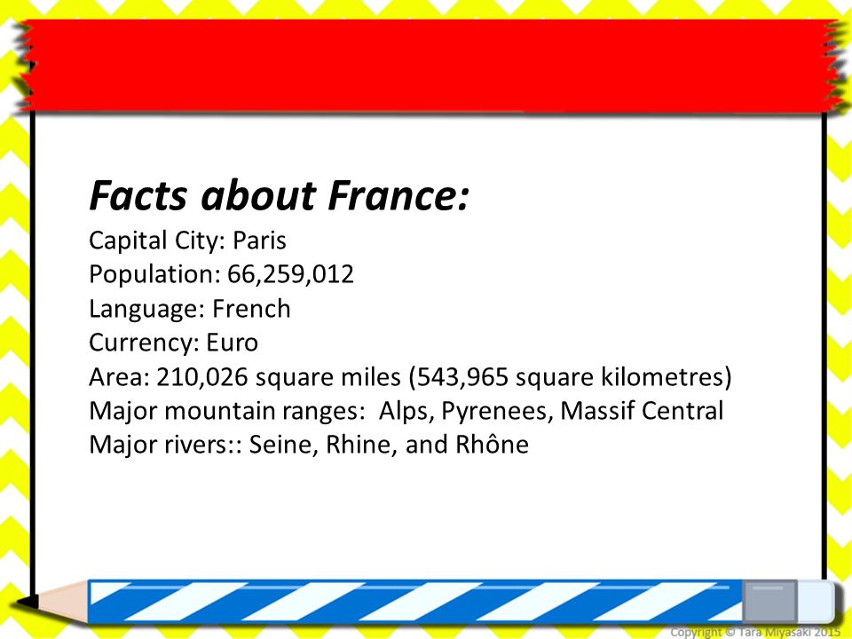 All About France. - ppt download