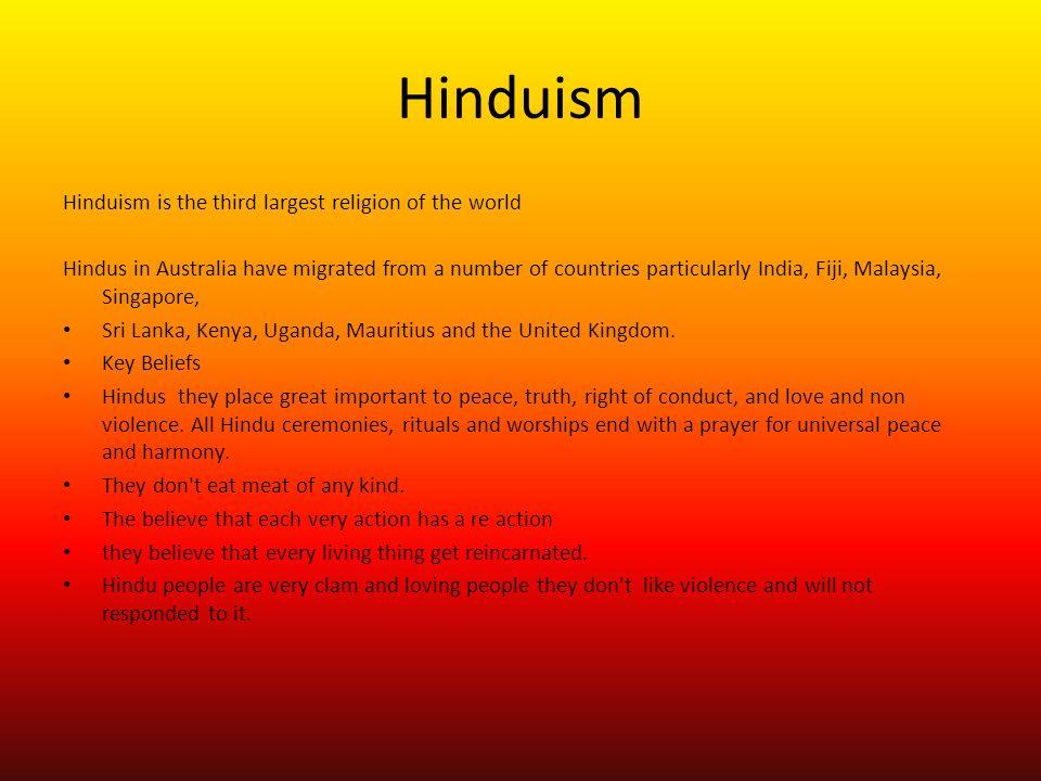 hinduism 3 essay