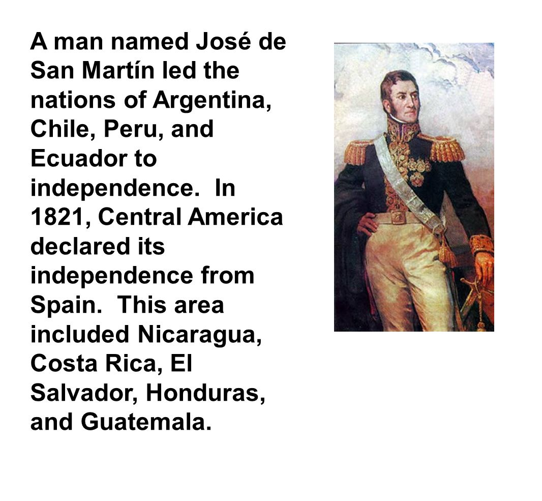 geschichte ecuadors 1821