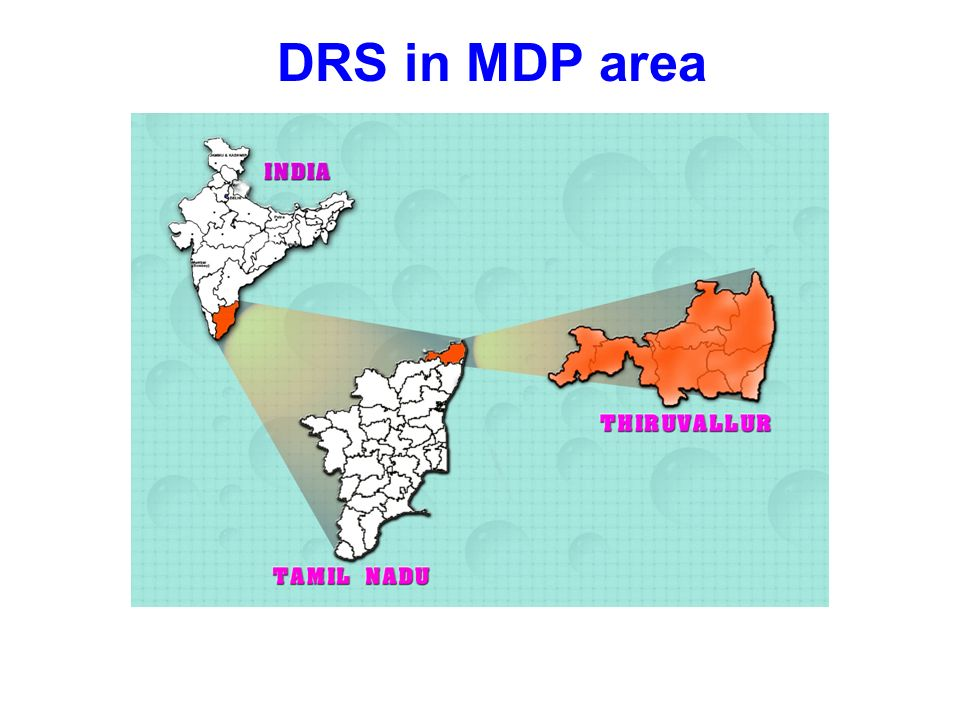 DRS in MDP area