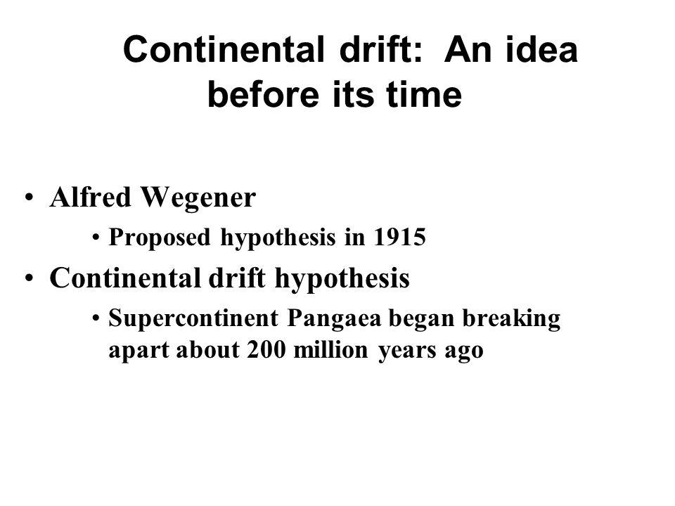 Plate Tectonics and earthquakes Alfred Wegener Proposed – Pangaea Worksheet