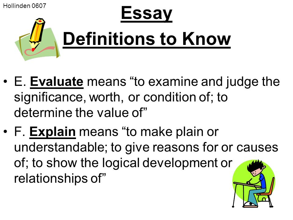 how to write a evaluation essay If you need to compose an evaluation essay, in this article you'll find useful advice on how to write an evaluation essay for college.