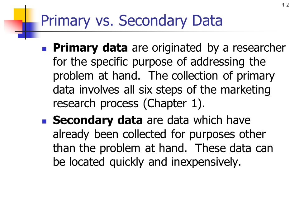 primary v secondary research Websites of primary resources the library of congress american memory project amp is a rich, searchable database of written and spoken words, sound recordings, still.