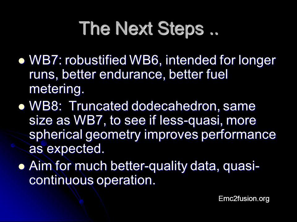 The Next Steps..