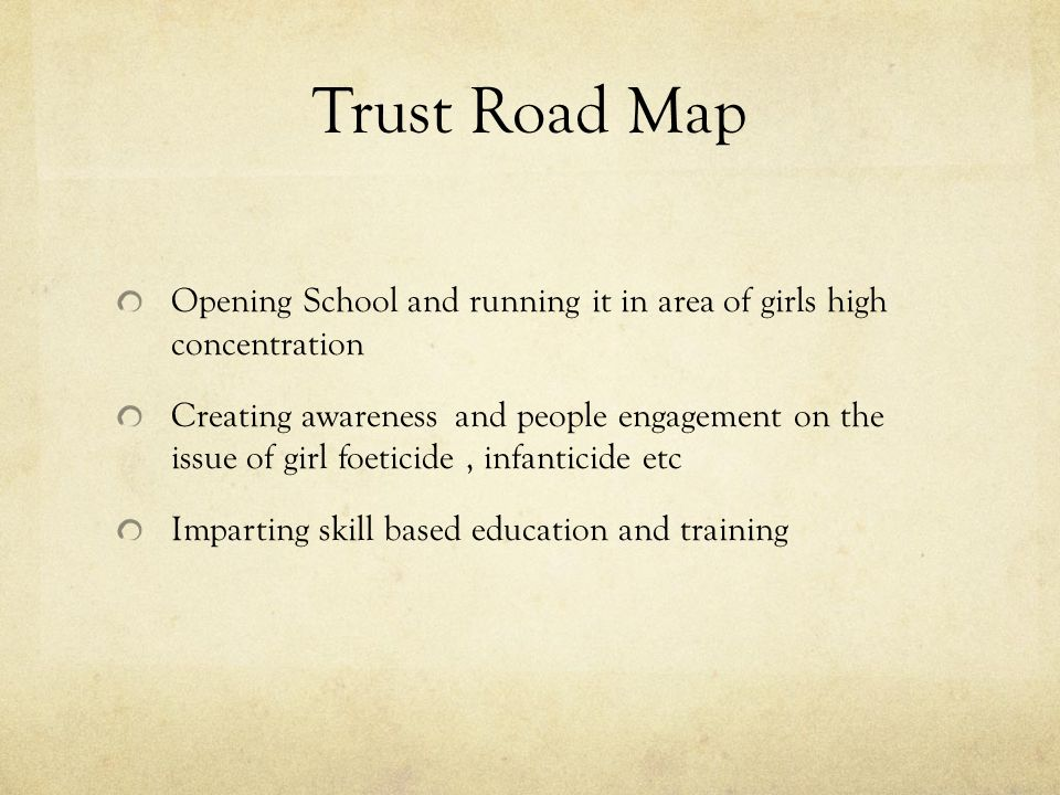 charitable trust essays