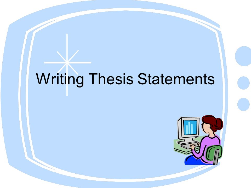 writing a thesis While you are writing your thesis, you might suddenly remember that an idea in chapter needs to be how to write a thesis: a working guide r.
