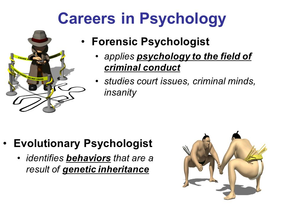 What are some careers in psychology?