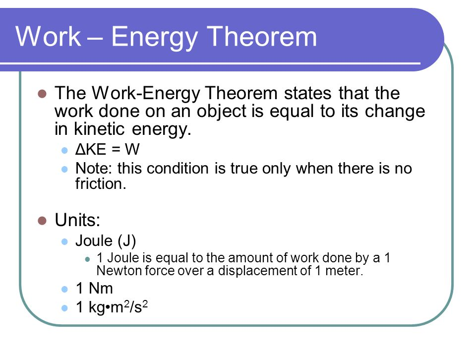 Collection of Work Energy Theorem Worksheet Sharebrowse – Work and Energy Worksheet