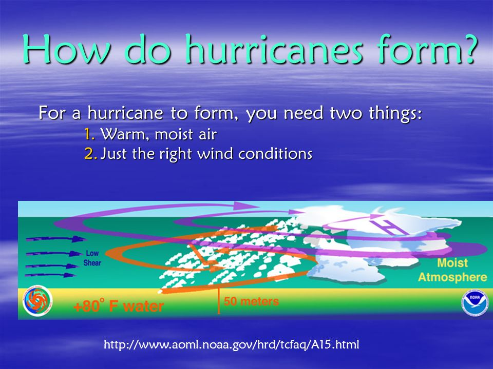Hurricanes. Katrina approaching New Orleans August ppt download