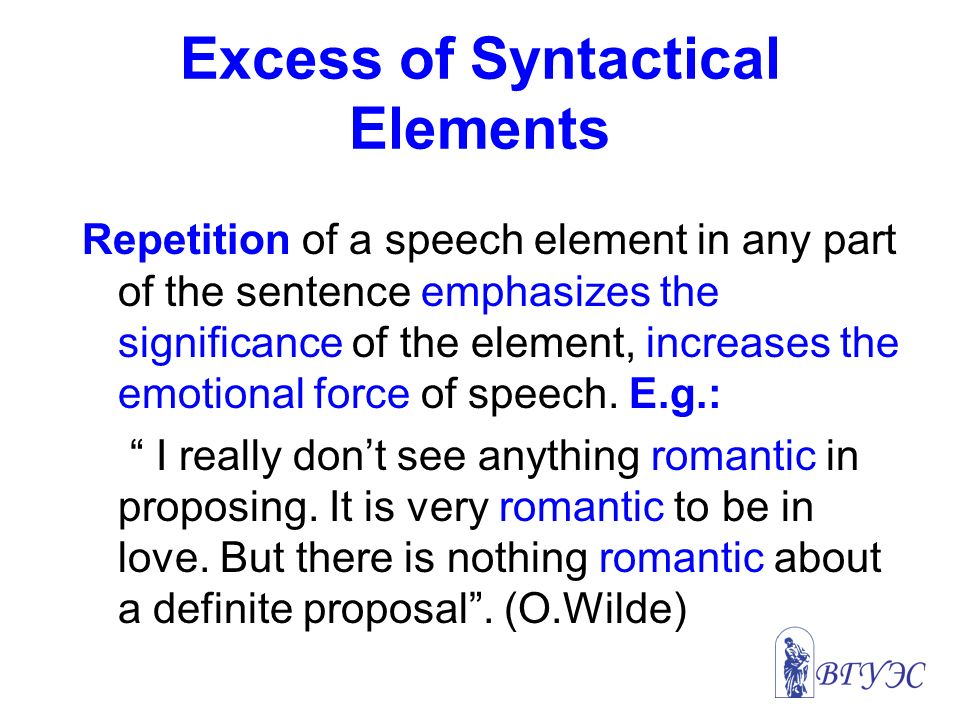 Vsue Lectures On Stylistics Of The English Language Presented By