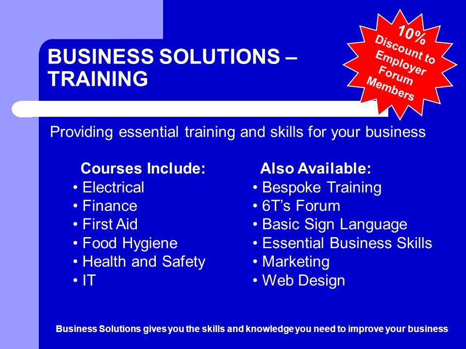 Bury College. LINKS Bury College Business Solutions Training ...