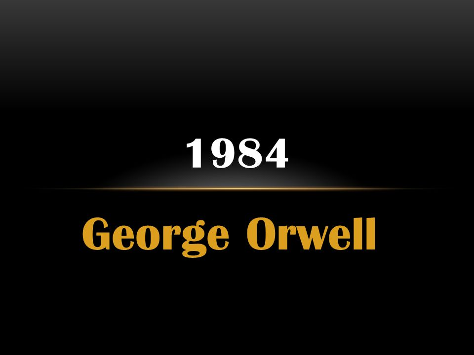 Any one know the theme for the book 1984 by George Orwell?