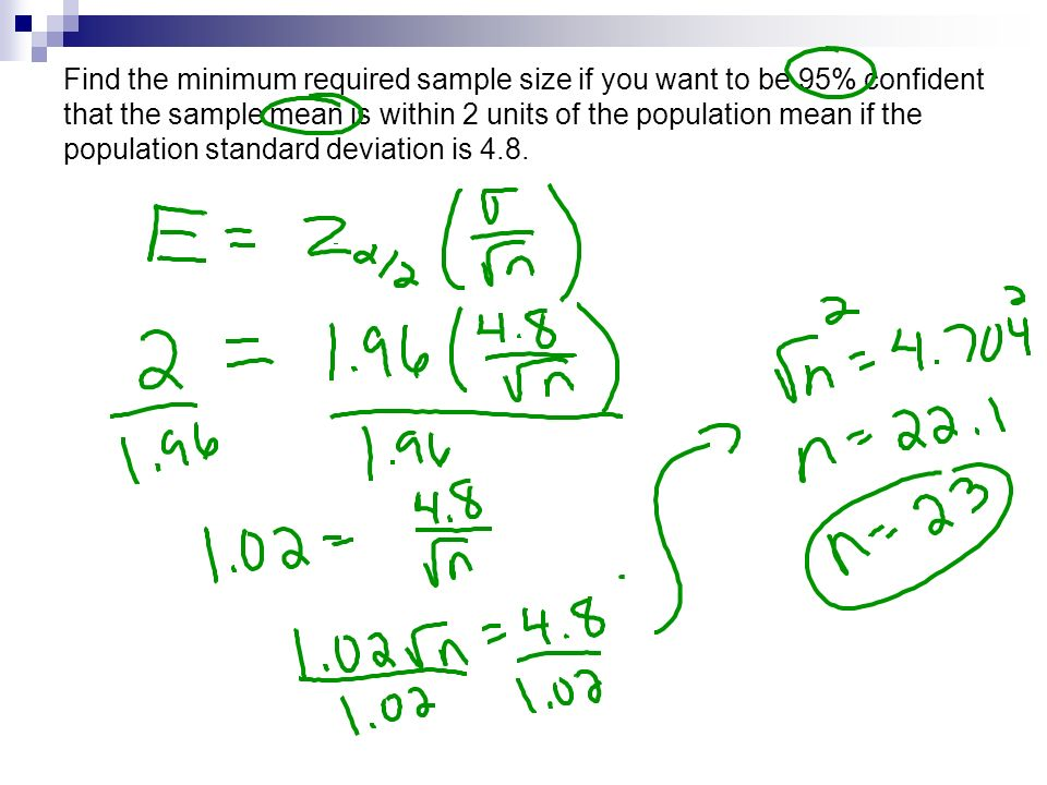 Confidence Intervals Means. Remember: In sampling distribution of ...