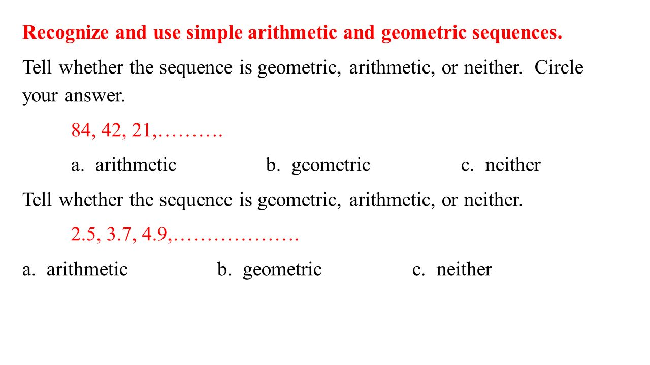 Worksheets Arithmetic And Geometric Sequences Worksheet equation for a geometric sequence jennarocca equations jennarocca