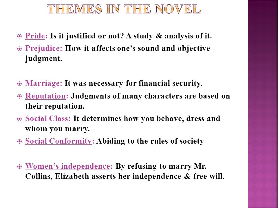 an analysis of marriage in pride and prejudice essay Pride and prejudice essays: and prejudice marriage in pride and prejudice pride austen's novel pride and prejudice analysis of a.