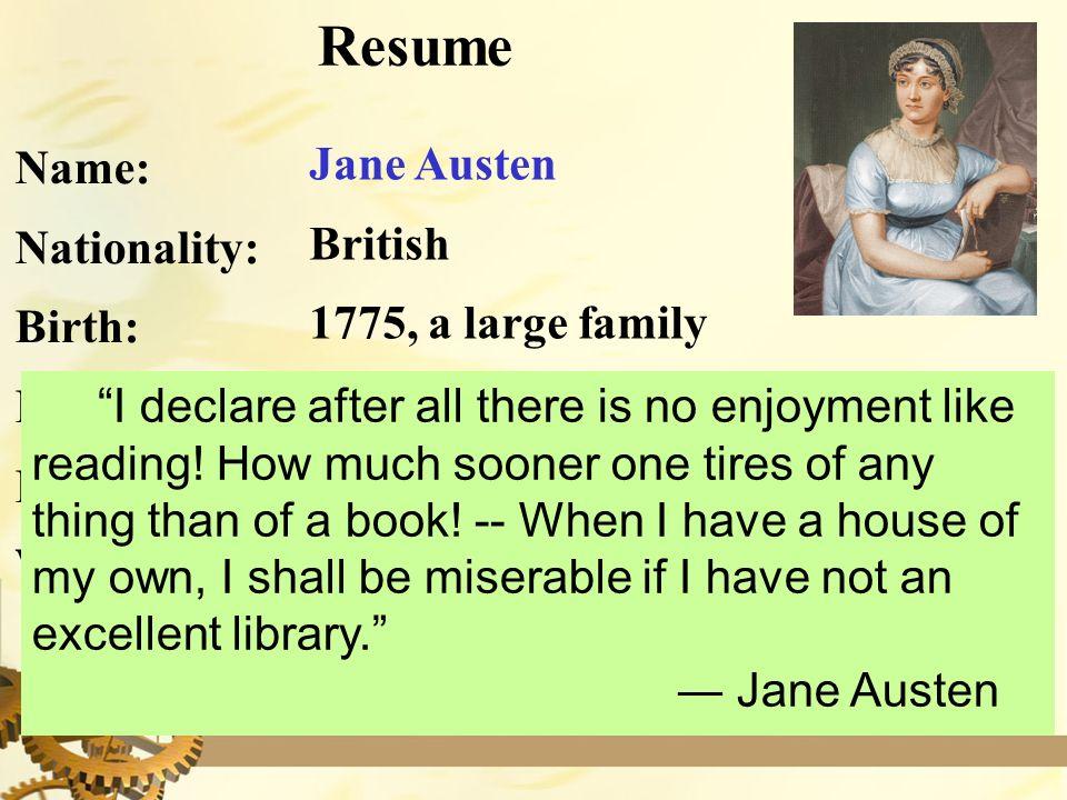 Jane austin writing style?