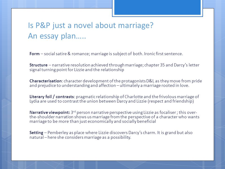 Marriage Essay Topics
