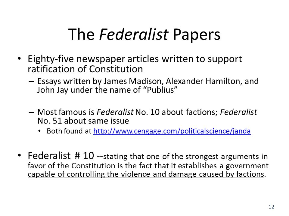 """federalist papers no 10 the violence """"no free man shall ever be debarred the use of arms"""" – thomas jefferson, virginia constitution, draft 1, 1776 """"i prefer dangerous freedom over peaceful slavery""""."""