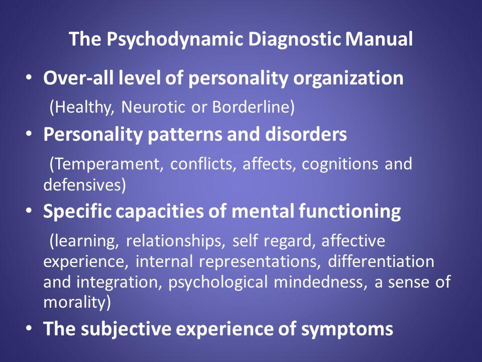 Psychodynamic Diagnostic Manual Second Edition PDM2