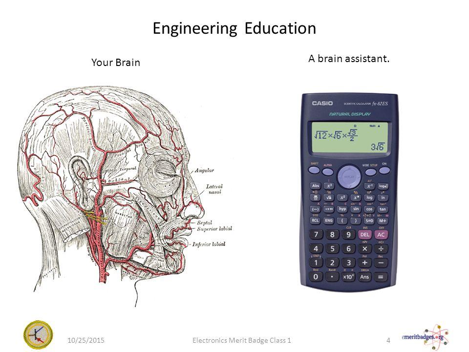 Electronics merit badge class 1 102520151electronics merit badge 4 engineering education your brain a brain assistant 102520154electronics merit badge class 1 ccuart Gallery