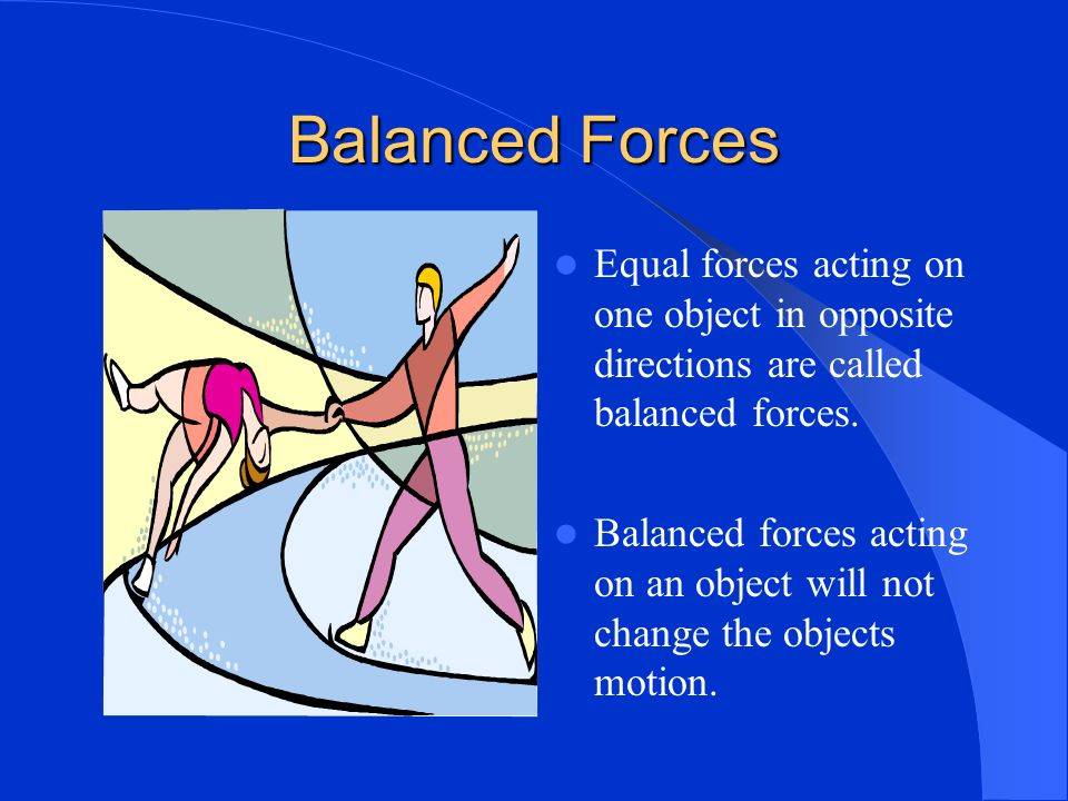 What is the net force. The net force is the overall force after all the forces are added together.