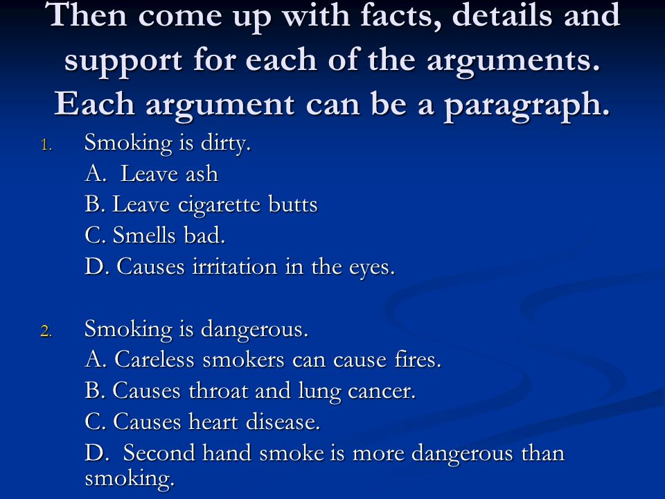 argumentative essays choose a topic smoking smoking computer  5 then