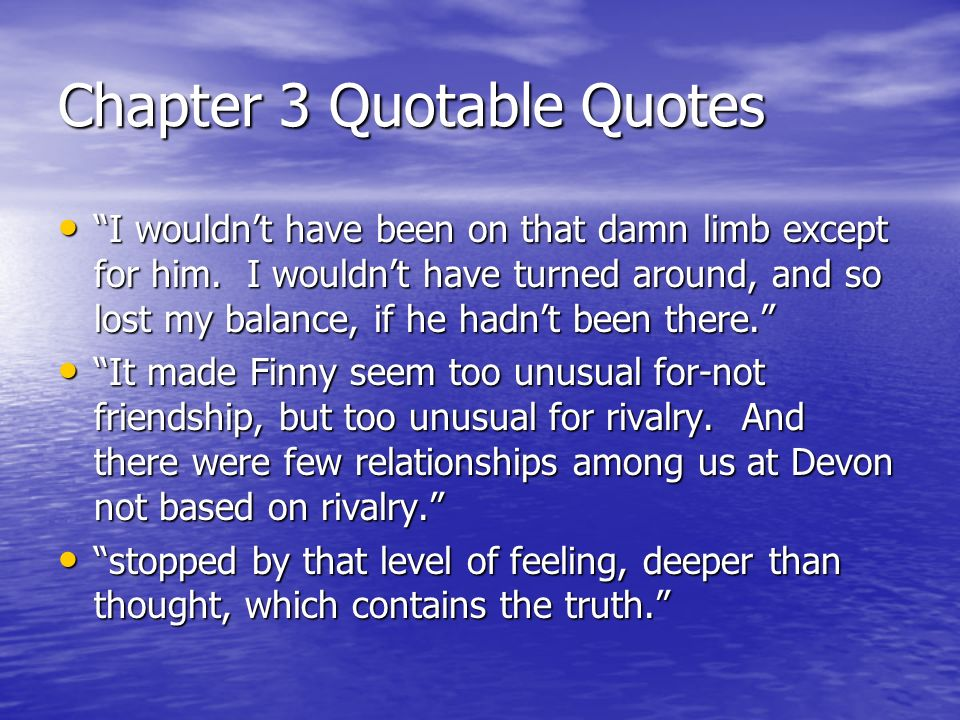 separate peace essay jealousy Finny and gene comparison in a separate peace need essay sample on finny and gene comparison in a nor did he suspect that his friend's secret jealousy.