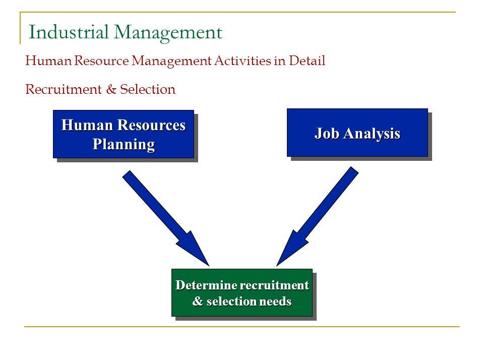 human resource management recruitment