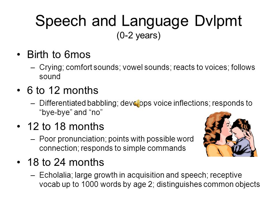 speech and communication Sometimes children do not develop speech as easily as others sometimes, they do not find it easy to understand the meaning of words or gestures.