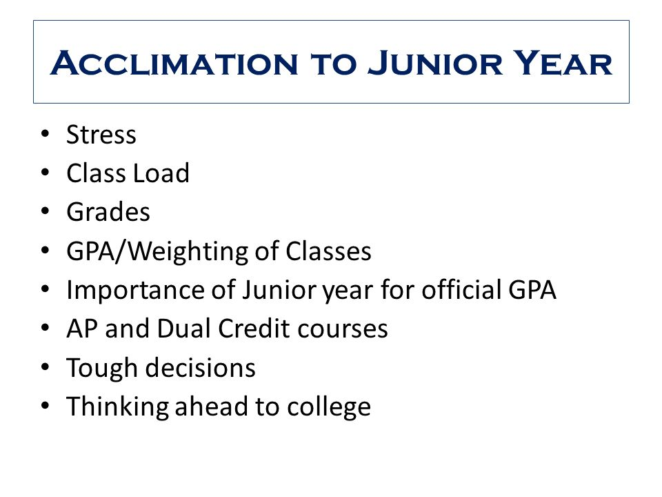 Which AP classes should I take for junior year!?