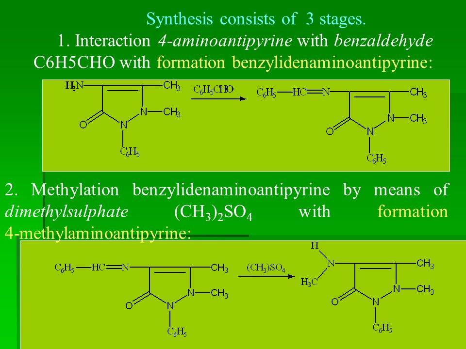 Synthesis consists of 3 stages. 1.