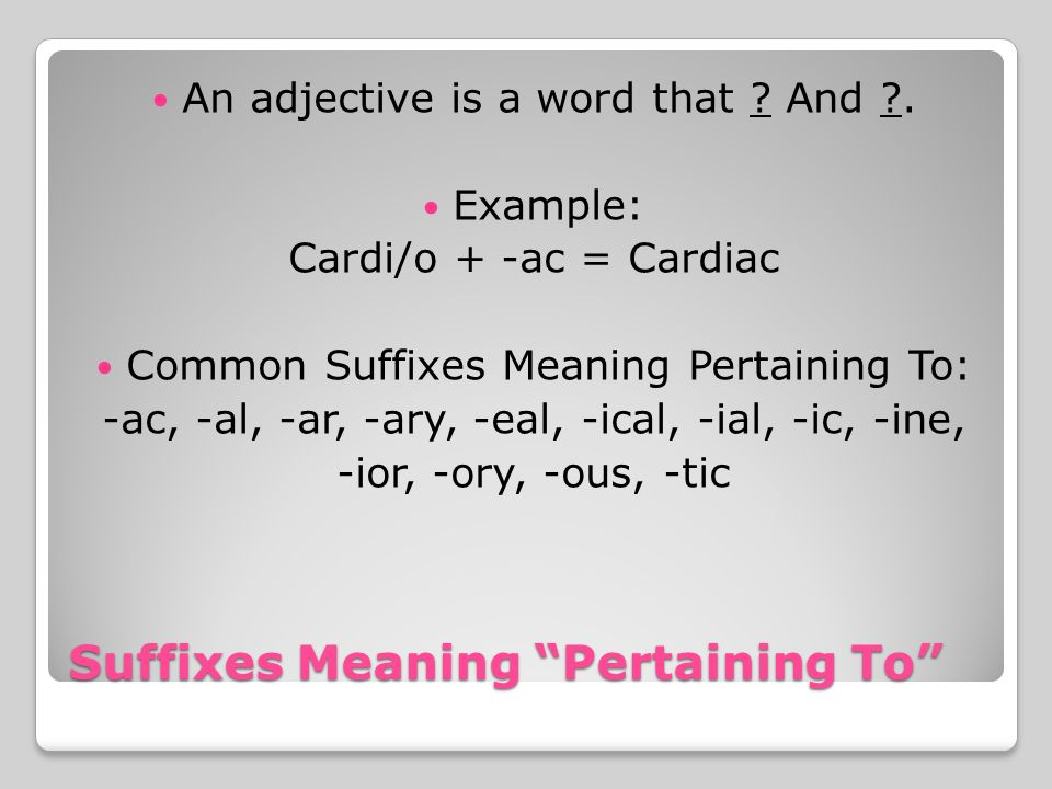 Introduction to Medical Terminology TEST 1-1. Word Parts are the ...
