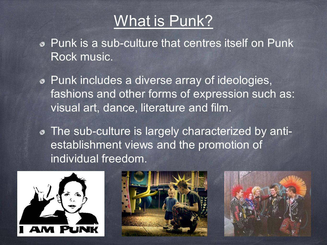 what are example of culture and subculture How can the answer be improved.
