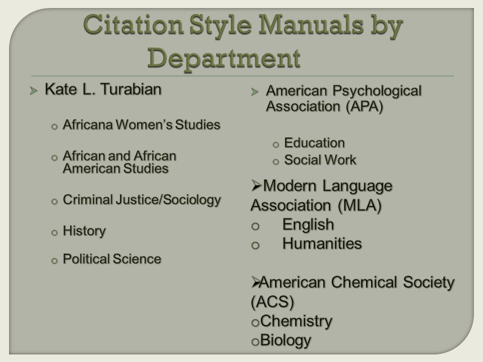 citing a dissertation turabian Kate turabian, the dissertation secretary at the university of chicago for over 30 years, created a guide for students and researchers, based on the chicago manual of use the latin abbreviation ibid (for ibidem, in the same place) to cite a work already cited in the immediately preceding note.