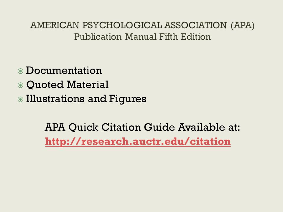 Apa Doctoral Dissertation