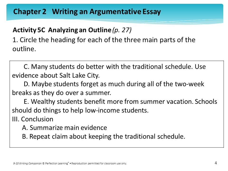 How To Write Argumentative Essays