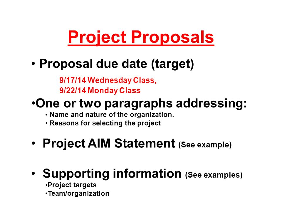 Project Proposals For Isye 515 Assignment Specifications- Fall Ppt
