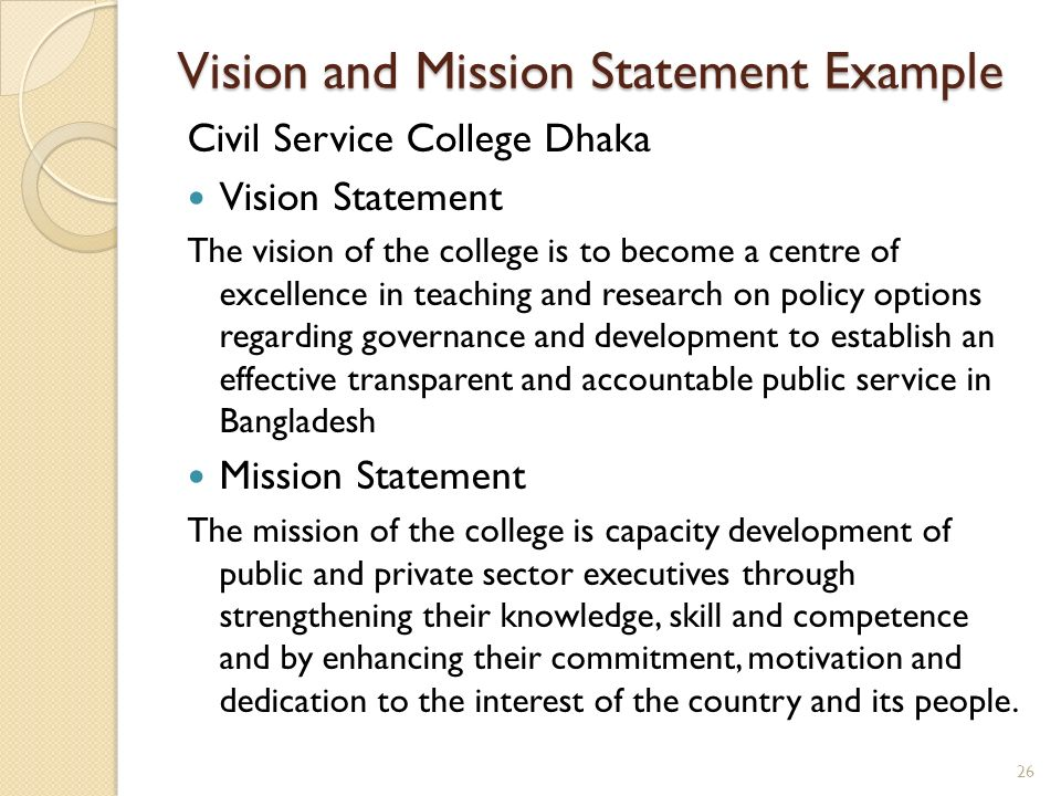 vision and mission statement of zara