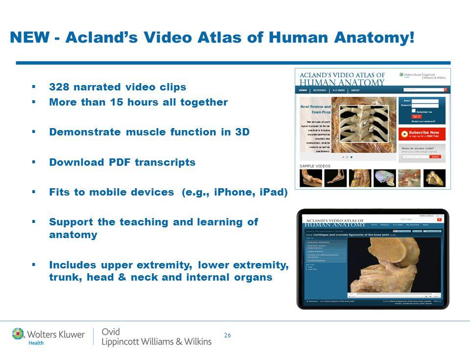 Moderno Video Atlas Of Human Anatomy Composición - Imágenes de ...