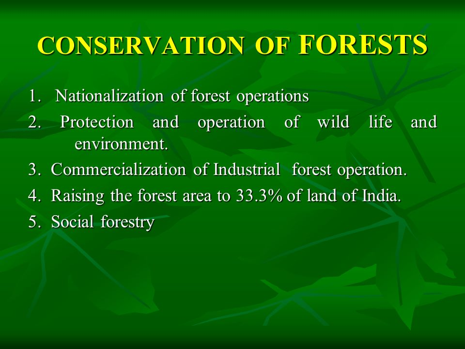 DEPLETION OF FORESTS  Large scale cutting of trees for different purposes like Industries.