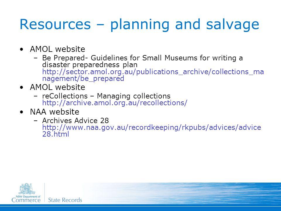 4 Resources – planning ...